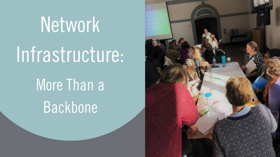 Network Infrastructure: More than a Backbone Organization